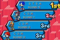 Sonic Battle - Misc Results - 1ST PLACE 1ST TRY YEAH BABY!!!! - User Screenshot