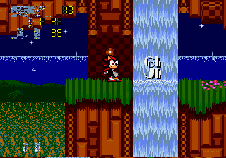 Sonic 2 - Project Shadow - Misc Glitch - shadow:WHERE AM I??? - User Screenshot