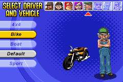 Micro Machines - Character Select  -  - User Screenshot