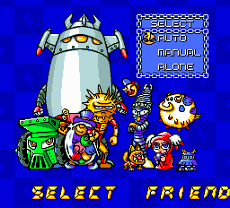 Air Zonk - Menus  - Friendly horrifying friends. - User Screenshot
