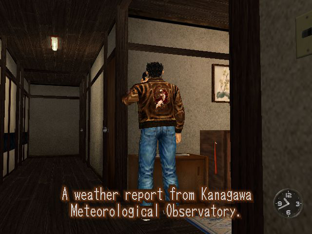 Ryo Hazuki -Location Hazuki Residence:but first, a weather update. - User Screenshot