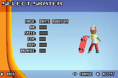 Backyard Skateboarding - Character Select  - he