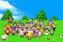Harvest Moon - More Friends of Mineral Town - Introduction  - there you are! my little fluffball. - User Screenshot