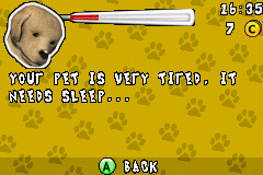 Paws & Claws - Best Friends - Dogs & Cats - Menus  - i need <z>s</z>leep too. good night! - User Screenshot