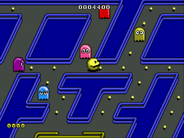 Clyde -Level Pac-Man:who invited ghosts into MY park? said pac-man - User Screenshot