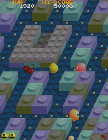 Clyde -Level Block Town:pac-man, ever the cherry chaser. - User Screenshot