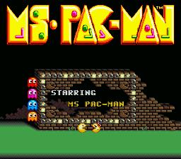 Miss pacman en pantalla completa
