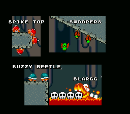 Super Mario World - Ending  - creepy crawlies! - User Screenshot