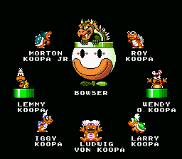 Super Mario World - Ending  - bowser