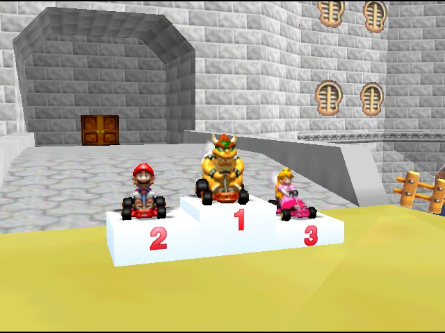 Mario Kart 64 - Cut-Scene  - These three are usually fighting . . . - User Screenshot