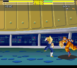 Dragon Ball Z - Ultime Menace - Battle  - super punch - User Screenshot