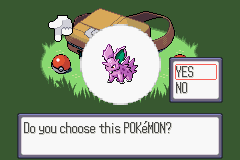 Pokemon Vortex (beta 3) - The last Starter - User Screenshot