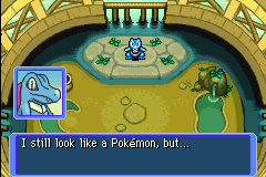 Pokemon Mystery Dungeon - Red Rescue Team - Cut-Scene  - You look terrifying - User Screenshot
