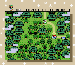Super Mario All-Stars  Super Mario World - World Map  - I CANT GET OUT OF HERE!!!! - User Screenshot