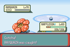 Pokemon Emerald - Battle  - in a dive ball - User Screenshot