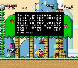 Super Mario World (hack) - say what - User Screenshot