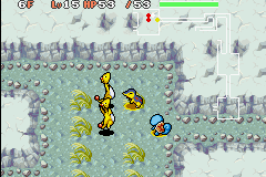 Pokemon Mystery Dungeon - Red Rescue Team - Battle  - AMPHAROS !!!!!!!!!!! - User Screenshot