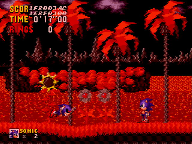 An Ordinary Sonic ROM Hack (beta) - bring it on punk  - User Screenshot