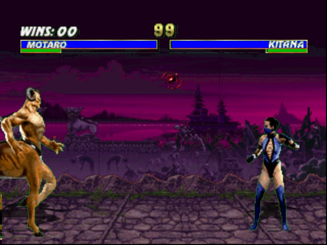 Mortal Kombat Trilogy - you dont have a chance  - User Screenshot