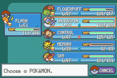 Pokemon Ash Gray (beta 3.61) - Cut-Scene  - ATFER THE 6th GYM - User Screenshot