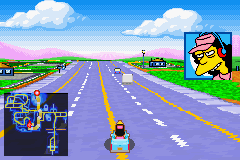 Simpsons, The - Road Rage - Misc car moving fast - cool with a k - User Screenshot