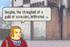 Fire Emblem - Cut-Scene  - Oh, the irony. - User Screenshot
