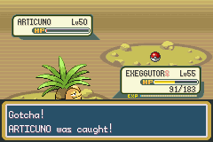 Pokemon Fire Red - Battle  - 3rd attempt, 45th Poke Ball - User Screenshot