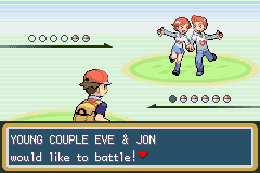 Pokemon Fire Red - Battle  - Proof that Eve cheated on Adam! - User Screenshot
