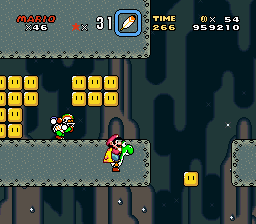 Super Mario World - Level Bowser - mario: i