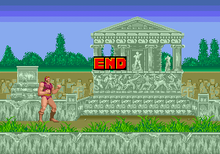 Altered Beast - Ending  - Game Beaten - User Screenshot
