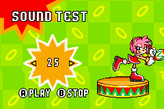 Sonic Advance - Misc To this song nr 25 - That dance doesnt fit. - User Screenshot