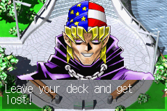 Yu-Gi-Oh! - The Sacred Cards - Cut-Scene  - keith has a derp face in this photo - User Screenshot