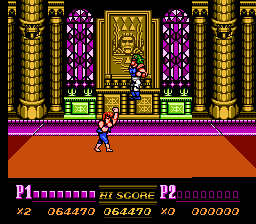Double Dragon II - The Revenge - Battle  - Final uppercut!! - User Screenshot