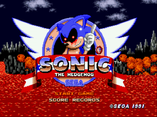An Ordinary Sonic ROM Hack - Introduction  - That Red Ring. - User Screenshot