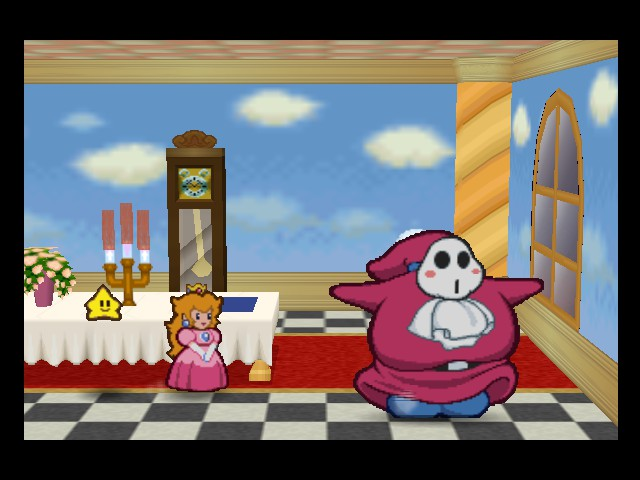 Paper Mario - Cut-Scene  - All I want to do is dance - User Screenshot