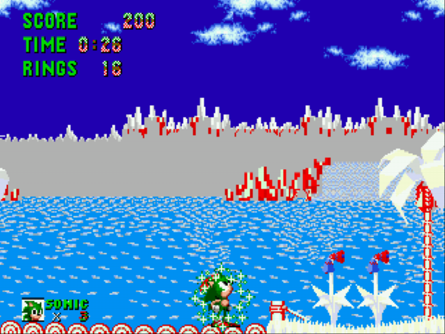 Sonic the Hedgehog - Christmas Edition -  - User Screenshot