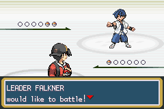 Pokemon Shiny Gold - 1st Gym Battle - User Screenshot