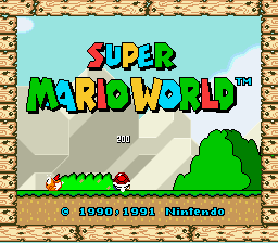 Super Mario World - Introduction  - seen this millions of times - User Screenshot