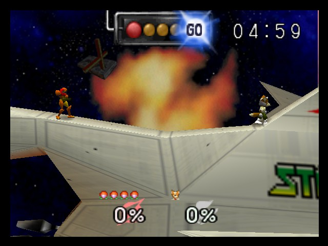 Super Smash Bros. - Battle  - Time to find out who is the best space hero - User Screenshot