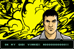 Grand Theft Auto Advance - Cut-Scene  - Holy Cow Vinnie Exploded - User Screenshot