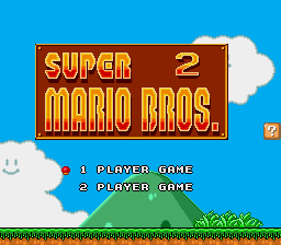 Super Mario Bros II 1998 (hack) - WHY IS IT TWO????? - User Screenshot
