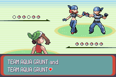 Pokemon Emerald - Battle  - BROBALLS! :D - User Screenshot