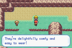 Pokemon Fire Red - Character Profile Shorts Guy - He