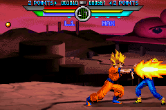 Dragon Ball Z - Taiketsu - Battle  - Goku Special... - User Screenshot