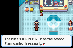 Pokemon Burning Ruby - Misc  - What second floor? - User Screenshot