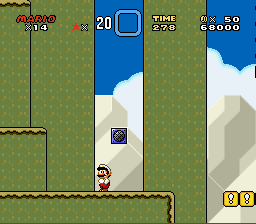 Super Mario World - Level Level 3 - As a kid, this was the hardest level for me. - User Screenshot