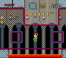 Super Mario World - Level Iggy