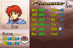 Fire Emblem - Gheb Fe - Character Profile  - Not bad Ewan not bad - User Screenshot