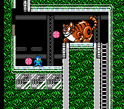 Mega Man 3 - Level  - Dr. Wily.. A Garfield robot, really? - User Screenshot