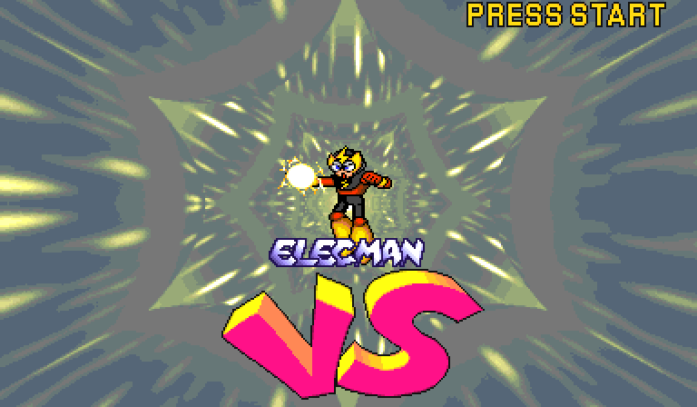 Elec Man -Cut-Scene :Elec Man! - User Screenshot